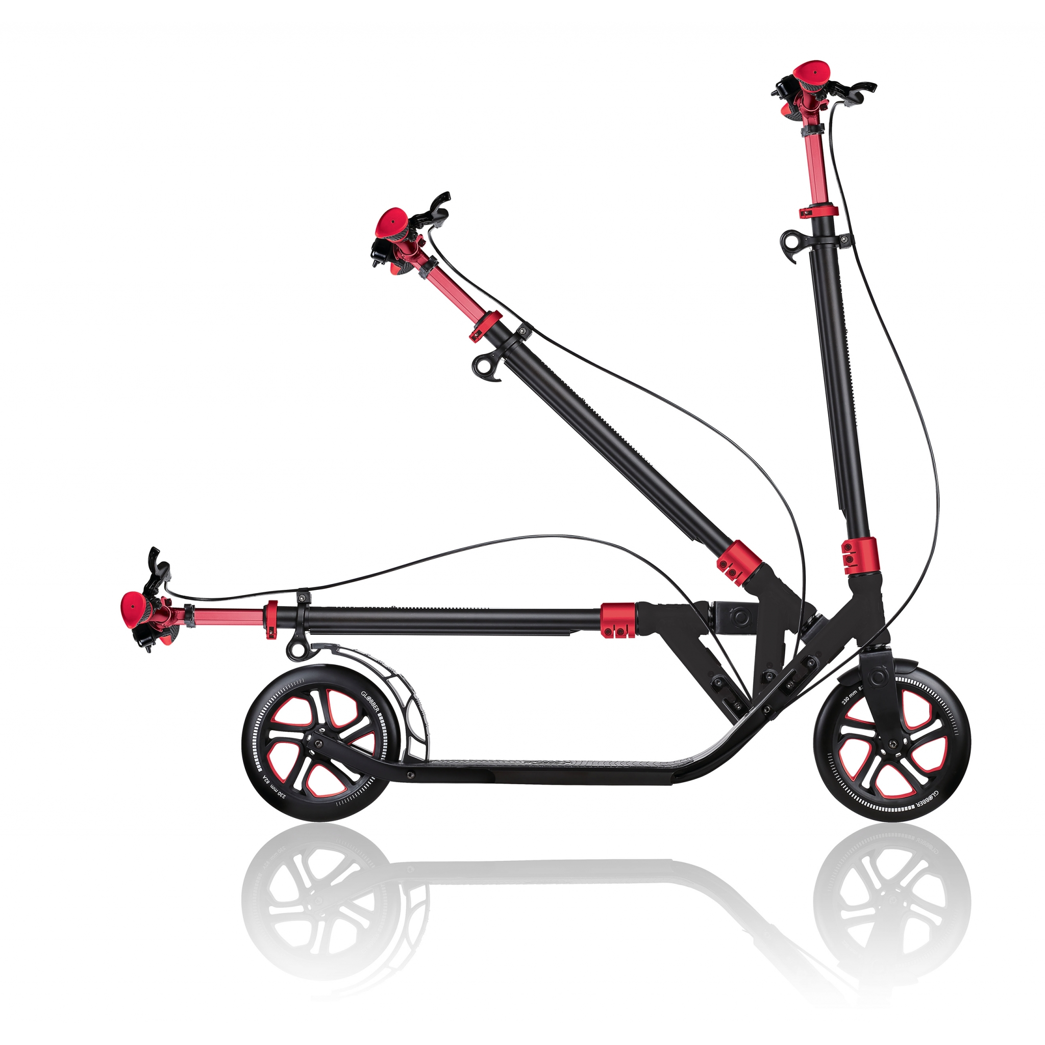 big wheel kick scooter - Globber ONE NL 230 ULTIMATE 3