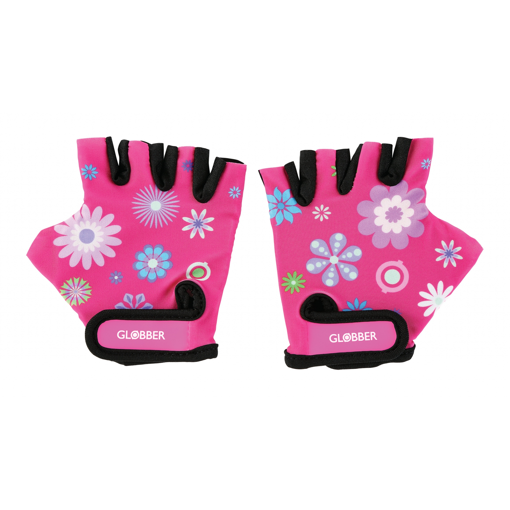 printed scooter gloves for toddlers - Globber 0