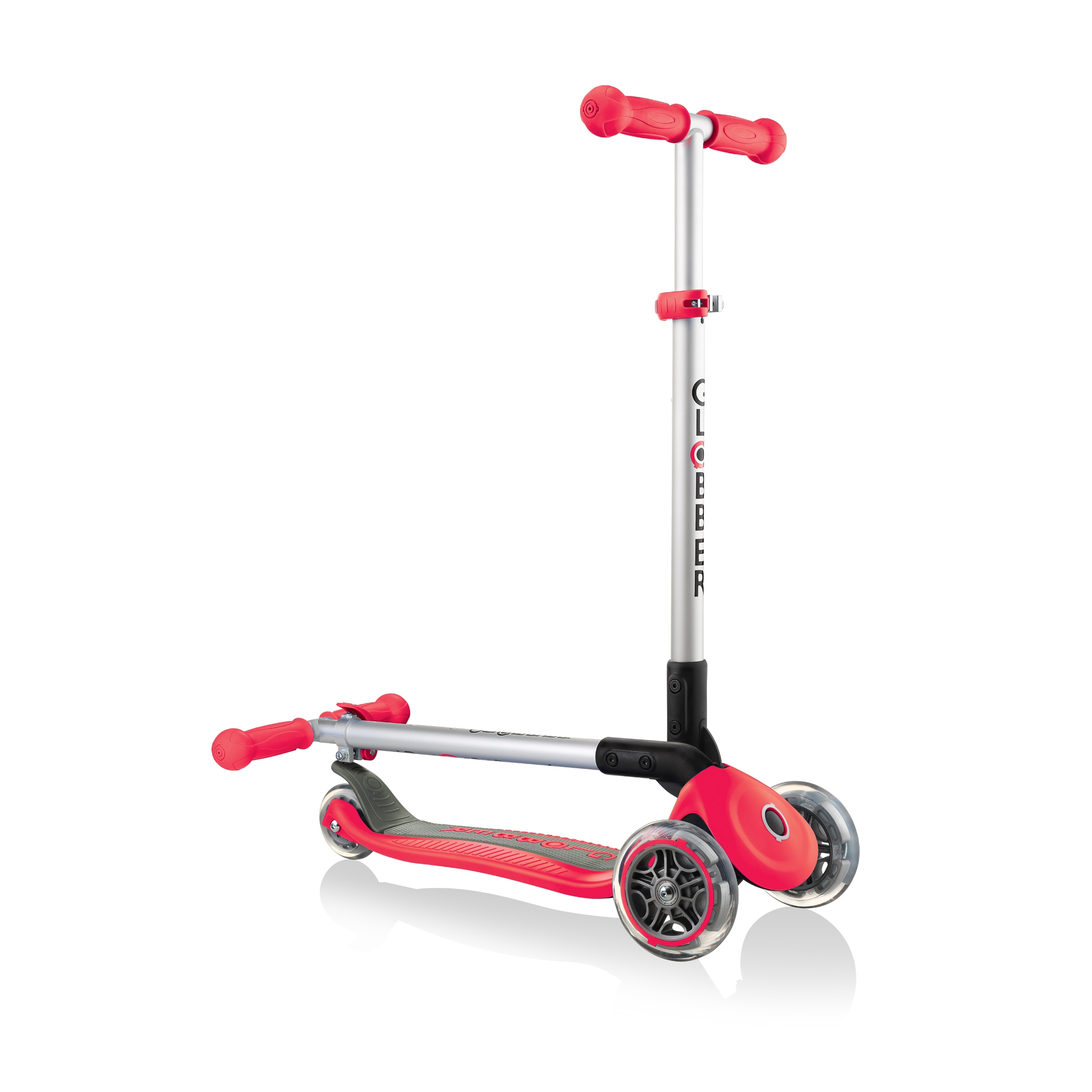 PRIMO-FOLDABLE-3-wheel-fold-up-scooter-for-kids-new-red