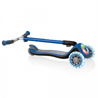 Globber-ELITE-PRIME-easy-foldable-3-wheel-scooter-for-kids-aged-3+-navy-blue