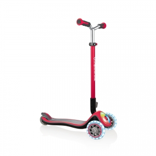 Globber-ELITE-PRIME-best-3-wheel-foldable-scooter-for-kids-aged-3+-new-red