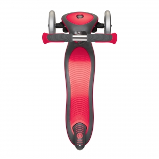 Globber-ELITE-DELUXE-3-wheel-foldable-scooter-for-kids-with-extra-wide-scooter-deck-new-red