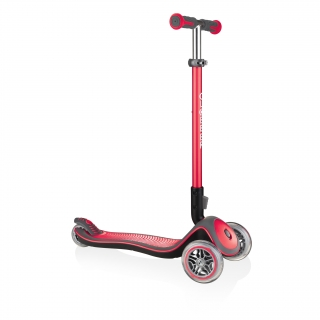 Globber-ELITE-DELUXE-Best-3-wheel-foldable-scooter-for-kids-aged-3+-new-red