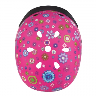 ELITE-helmets-best-scooter-helmets-for-kids-with-air-vents-cooling-system-deep-pink