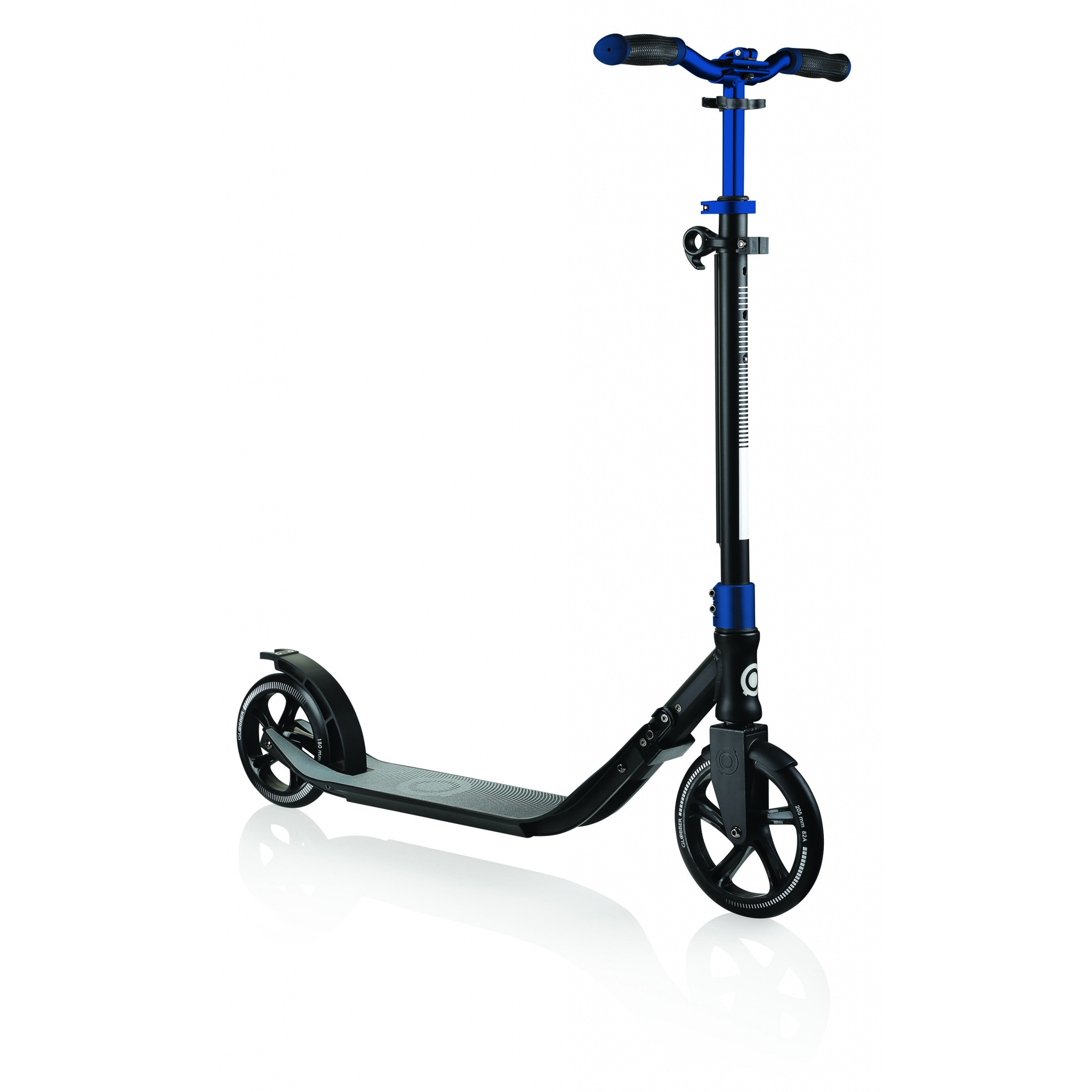 Globber-ONE-NL-205-180-DUO-2-wheel-adjustable-scooter-for-adults-cobalt-blue