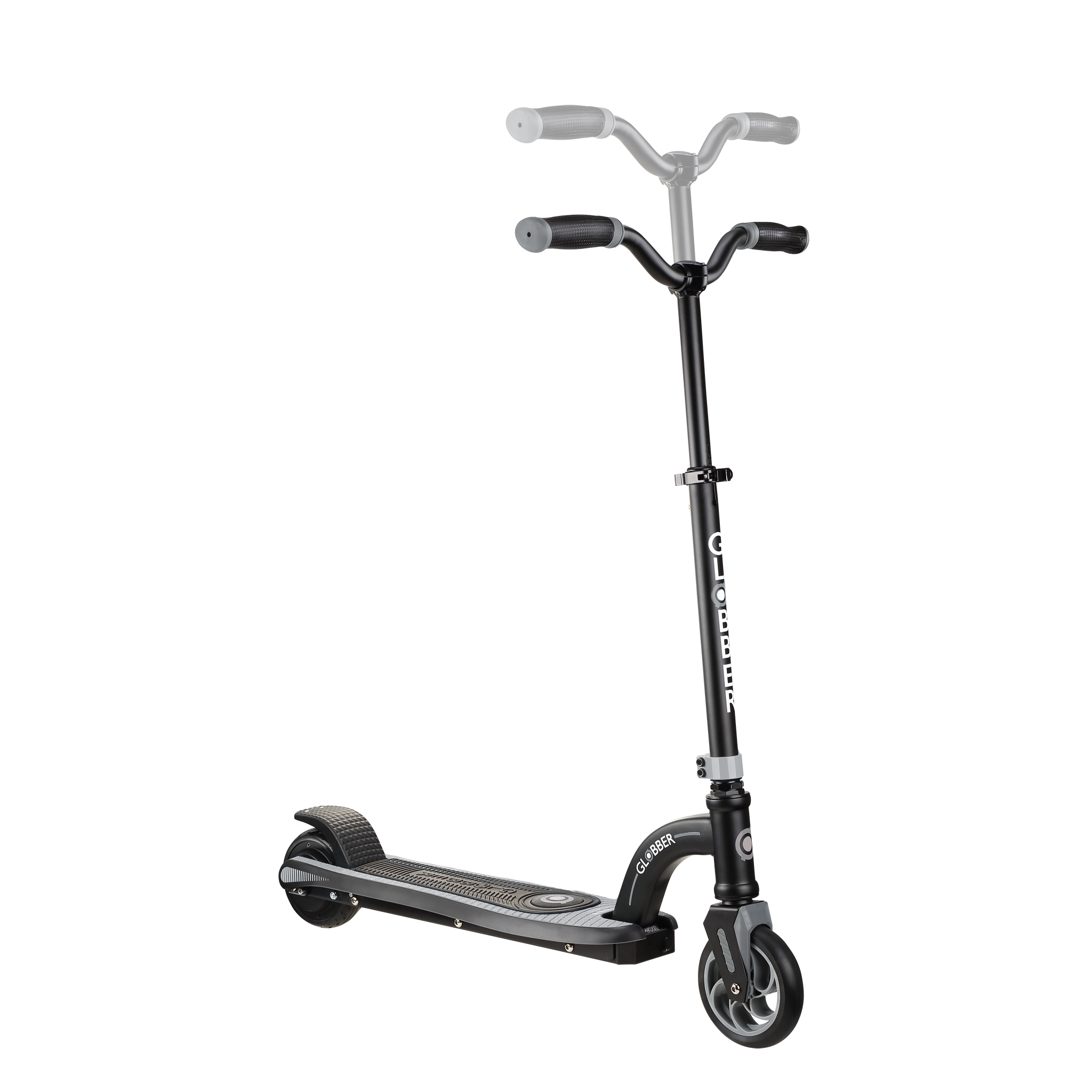 Globber-ONE-K-E-MOTION-10-best-electric-scooter-for-kids-aged-8+-adjustable-e-scooter-grey