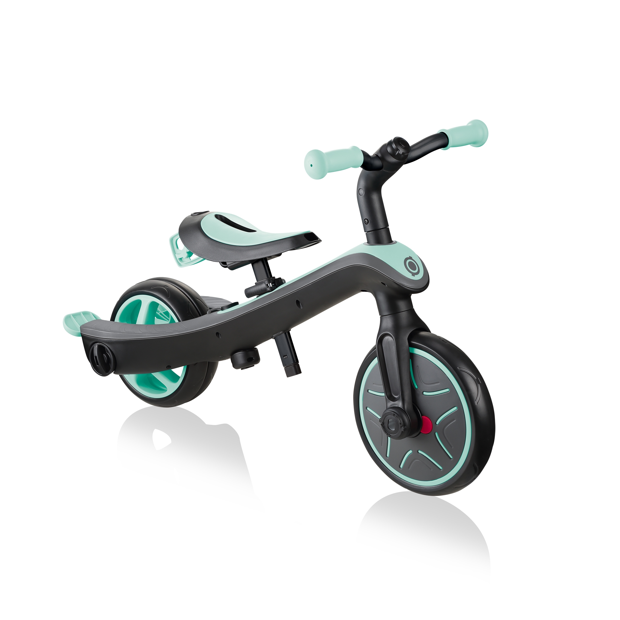 Globber-EXPLORER-TRIKE-4in1-all-in-one-baby-tricycle-and-kids-balance-bike-stage4-balance-bike_mint
