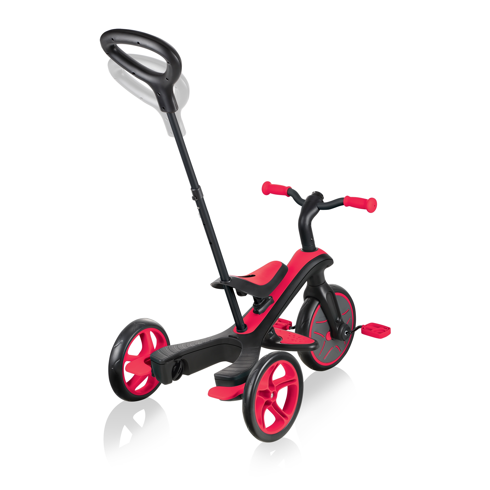 Globber-EXPLORER-TRIKE-3in1-all-in-one-baby-tricycle-and-kids-balance-bike-with-2-height-adjustable-parent-handle_new-red