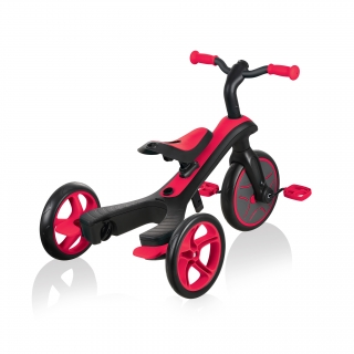 Globber-EXPLORER-TRIKE-4in1-all-in-one-baby-tricycle-and-kids-balance-bike-with-patented-wheel-mechanism-transformation_new-red