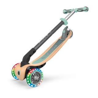 PRIMO-FOLDABLE-WOOD-LIGHTS-3-wheel-foldable-light-up-scooter-with-7-ply-wooden-scooter-deck-trolley-mode-compatible_pastel-green