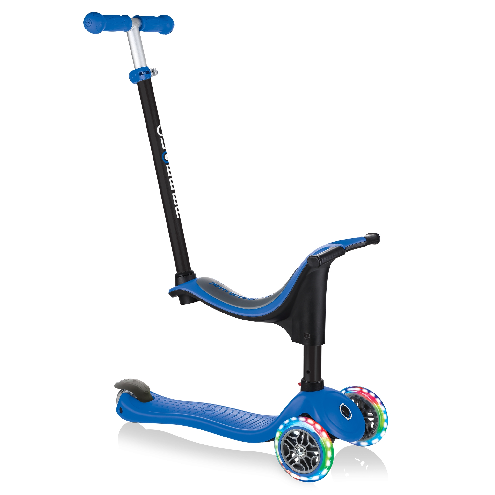 GO-UP-SPORTY-LIGHTS-ride-on-walking-bike-scooter-navy-blue
