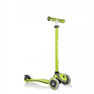 GO-UP-COMFORT-scooter-with-seat-with-adjustable-T-bar-lime-green thumbnail 4