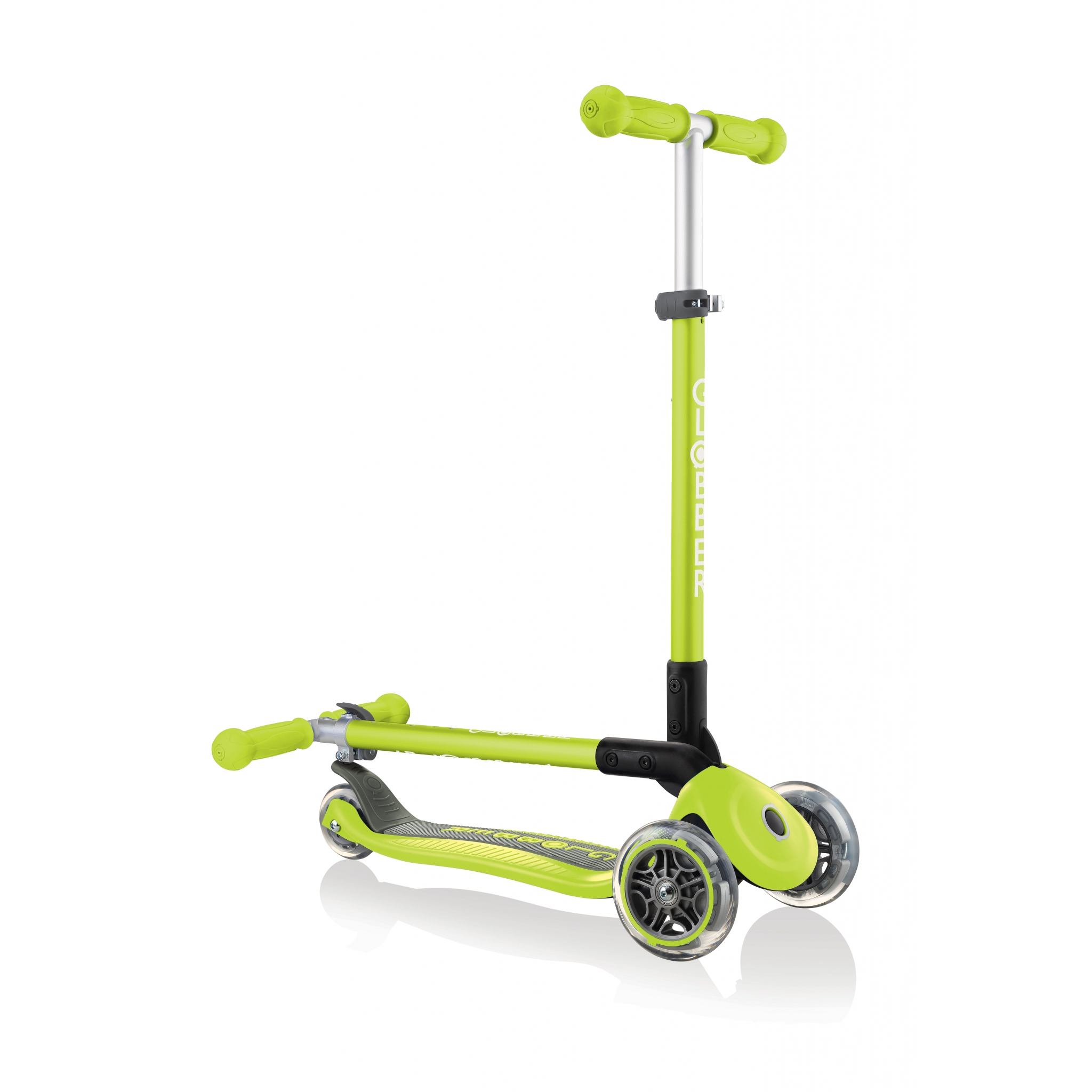 PRIMO-FOLDABLE-3-wheel-fold-up-scooter-for-kids-lime-green