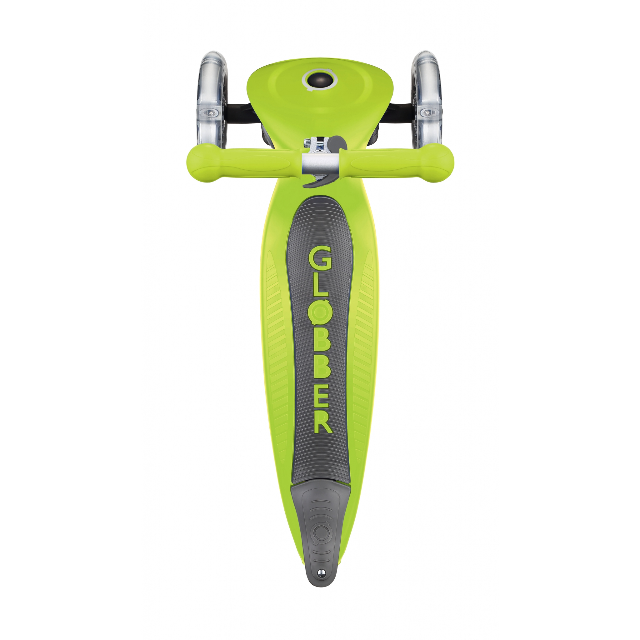 PRIMO-FOLDABLE-3-wheel-scooter-for-kids-with-big-deck-lime-green