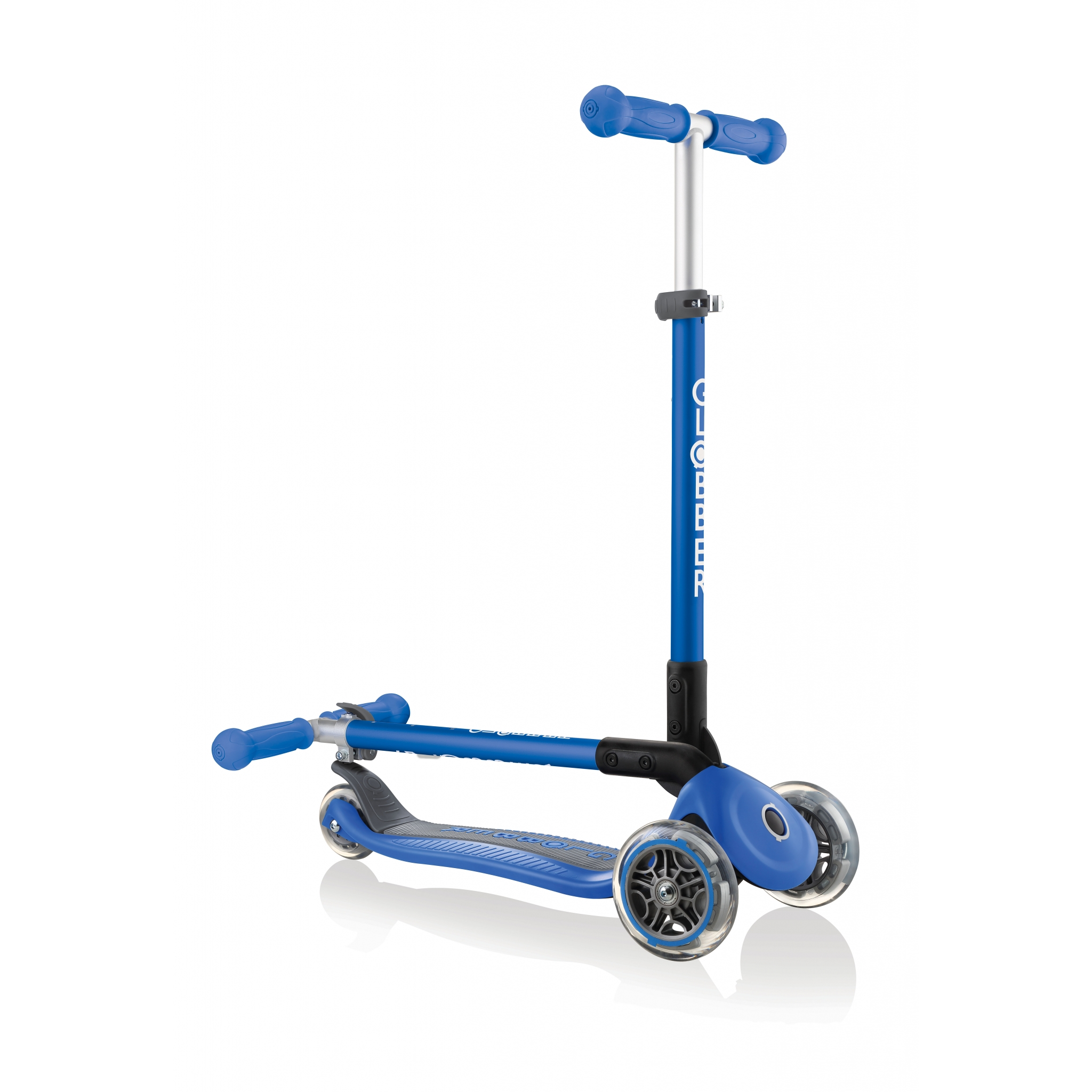 PRIMO-FOLDABLE-3-wheel-fold-up-scooter-for-kids-navy-blue