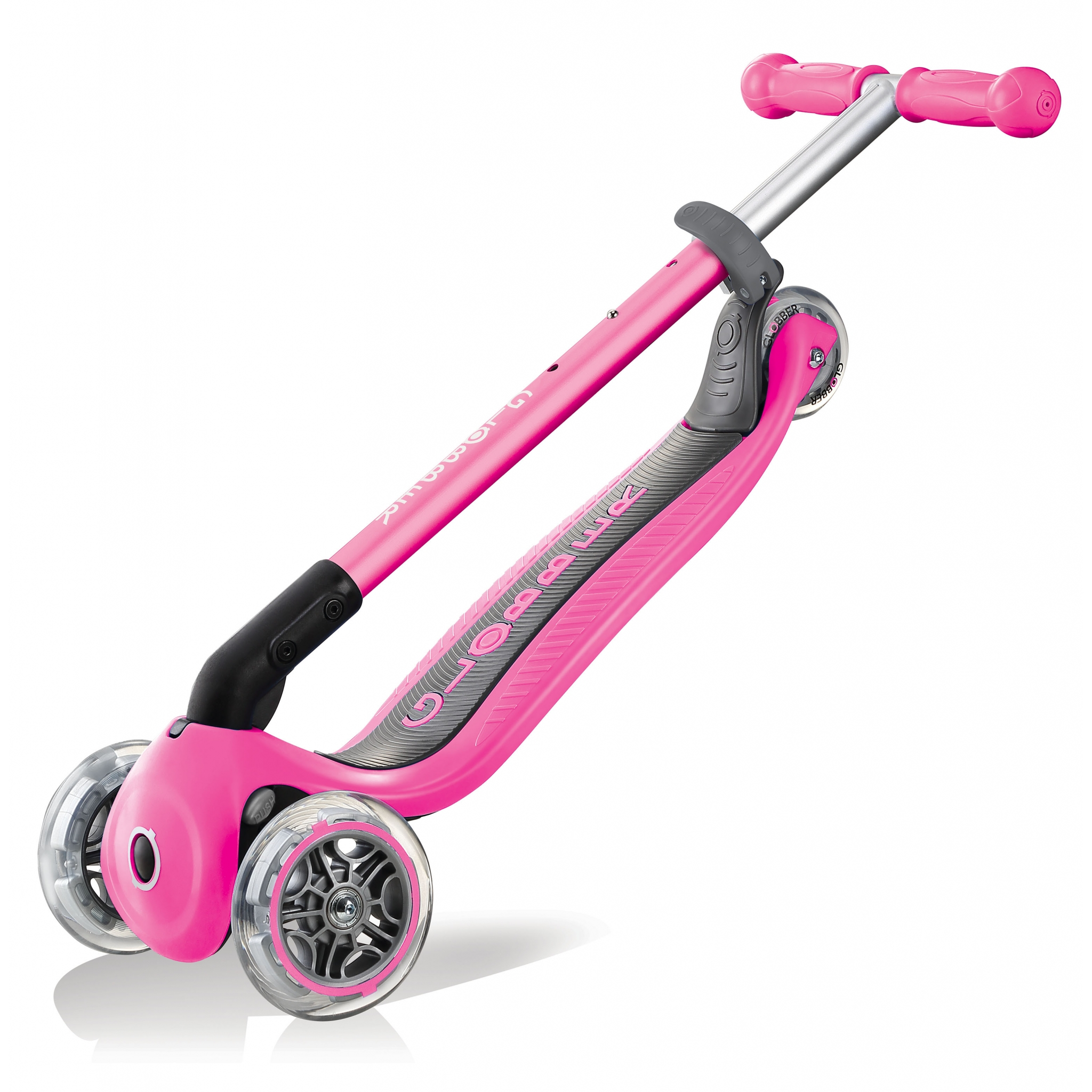 Scooter kids foldable Pink Green Blue with aluminum brake