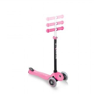GO-UP-SPORTY-PLUS-scooter-with-seat-with-adjustable-T-bar_deep-pink