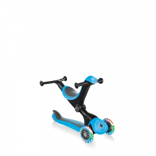 GO-UP-DELUXE-LIGHTS-walking-bike-mode-with-light-up-wheels-sky-blue thumbnail 3