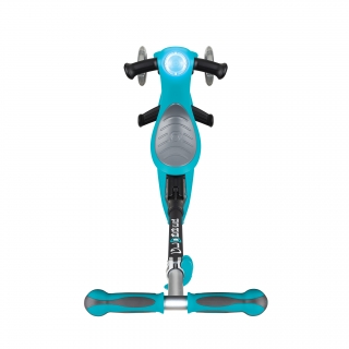 GO-UP-DELUXE-PLAY-ride-on-walking-bike-scooter-with-light-and-sound-module-and-extra-wide-3-height-adjustable-seat-teal thumbnail 2