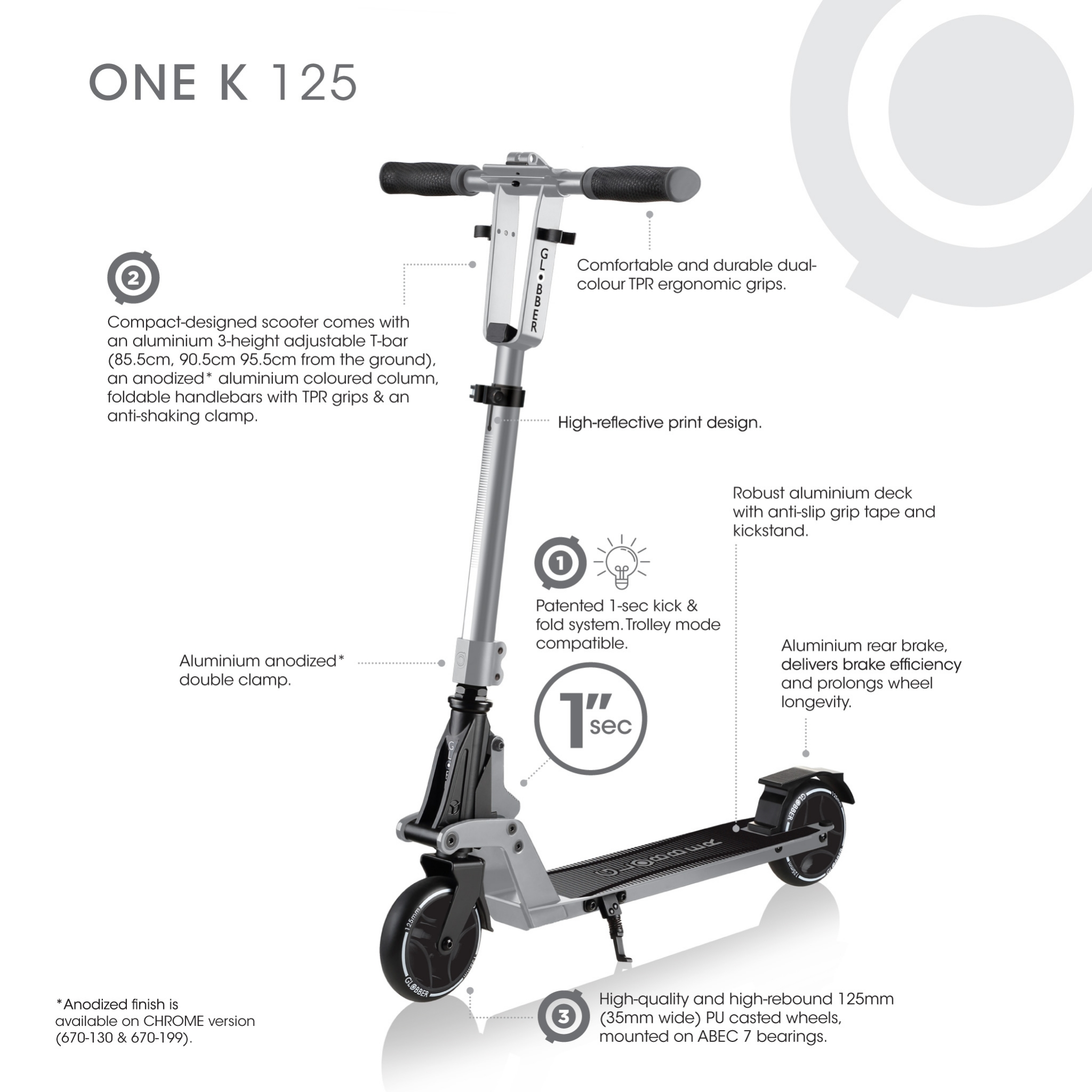 ONE-K-125-kick-and-fold-2-wheel-foldable-scooter-for-kids-and-teens-aged-8-and-above 1