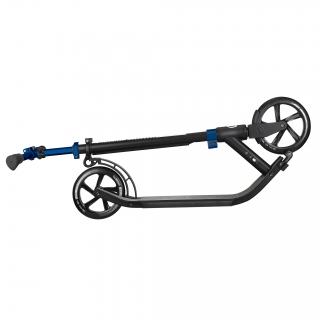 Globber-ONE-NL-205-180-DUO-2-wheel-foldable-scooter-for-adults-trolley-mode-cobalt-blue
