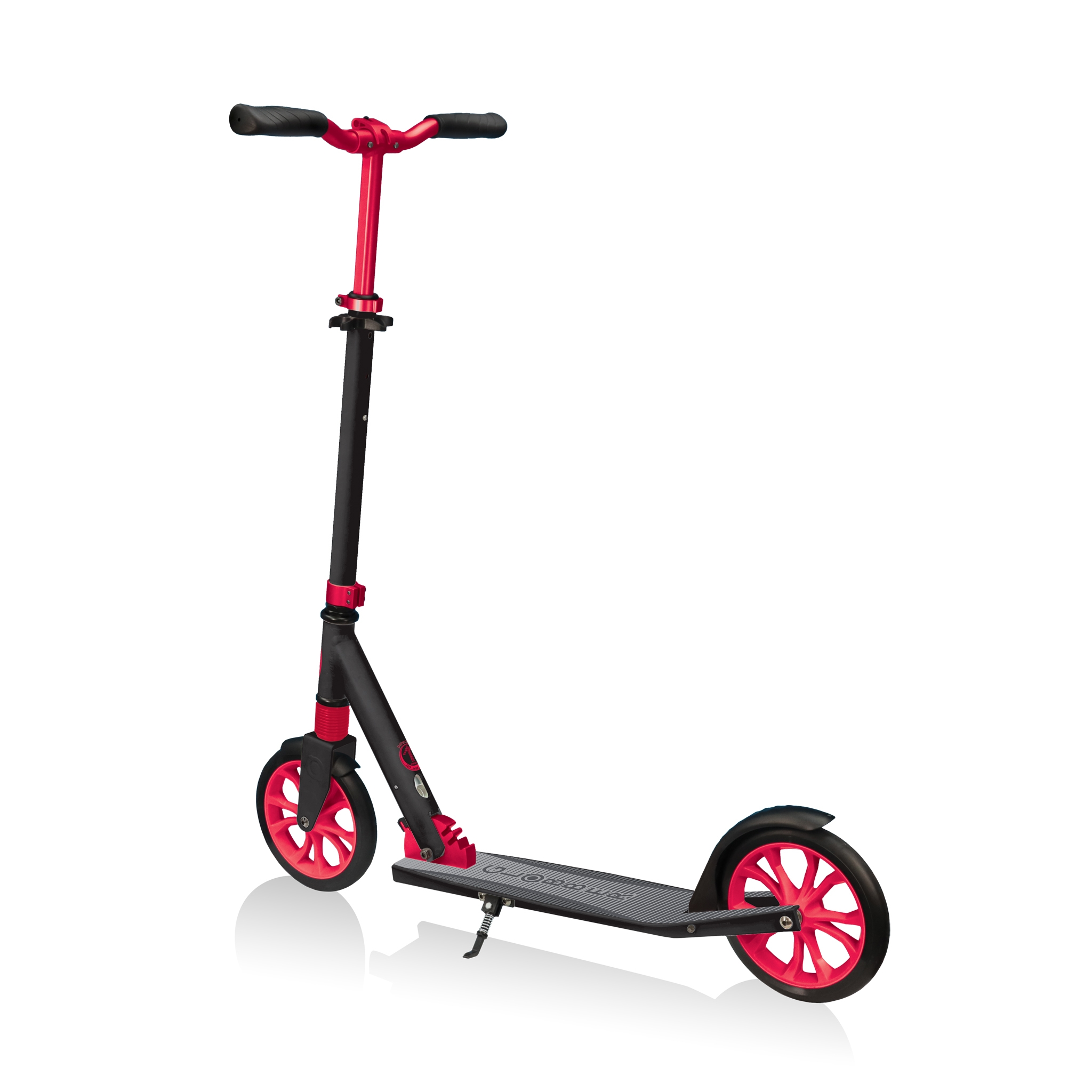 Globber-NL-205-big-wheel-scooter-for-kids-with-front-suspension