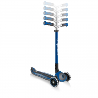Globber-MASTER-LIGHTS-premium-3-wheel-foldable-light-up-scooters-for-kids-with-5-height-adjustable-T-bar_dark-blue thumbnail 4
