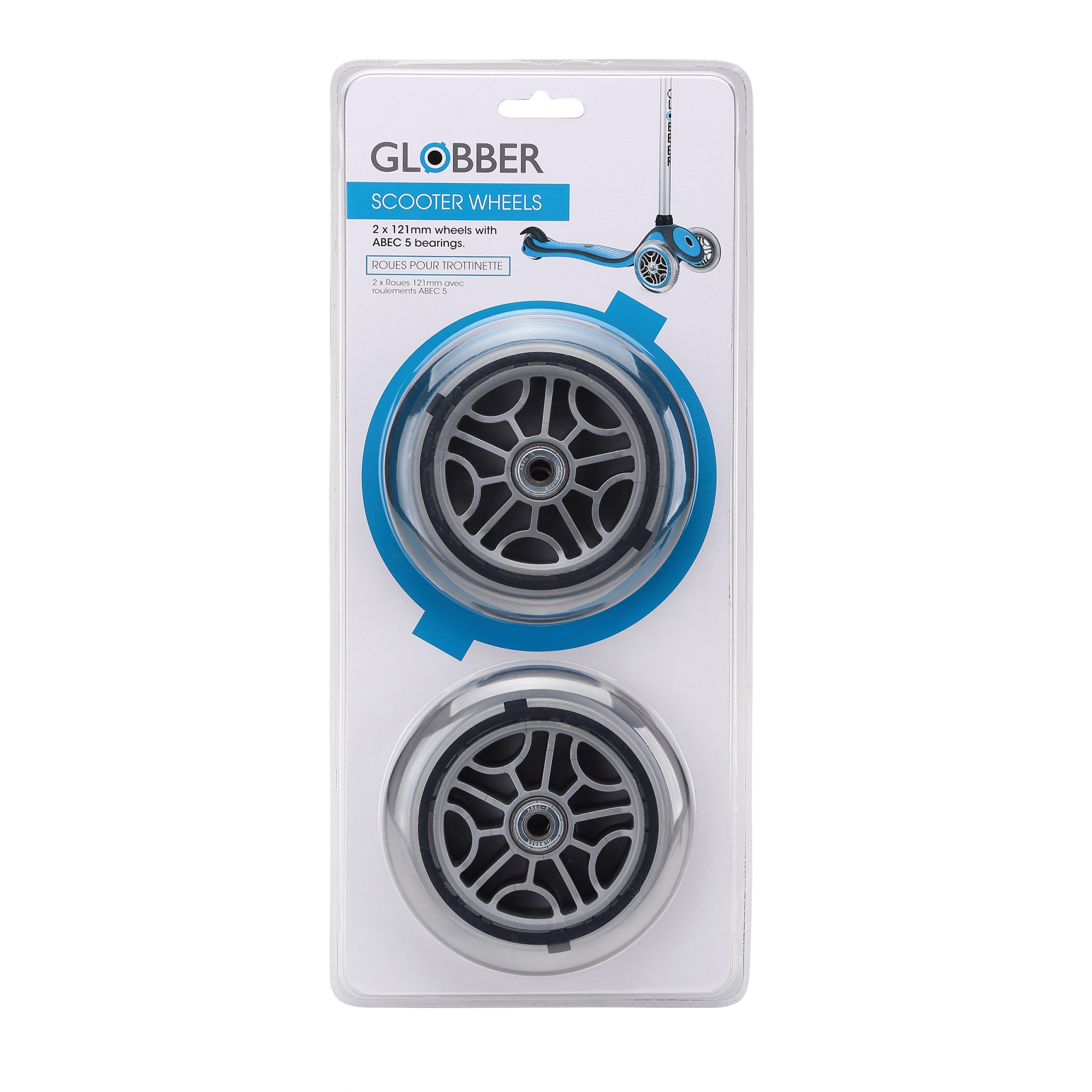 scooter front wheel for Globber GO-UP, PRIMO and FLOW scooters 0