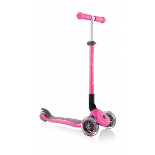 PRIMO-FOLDABLE-3-wheel-foldable-scooter-for-kids-neon-pink thumbnail 2