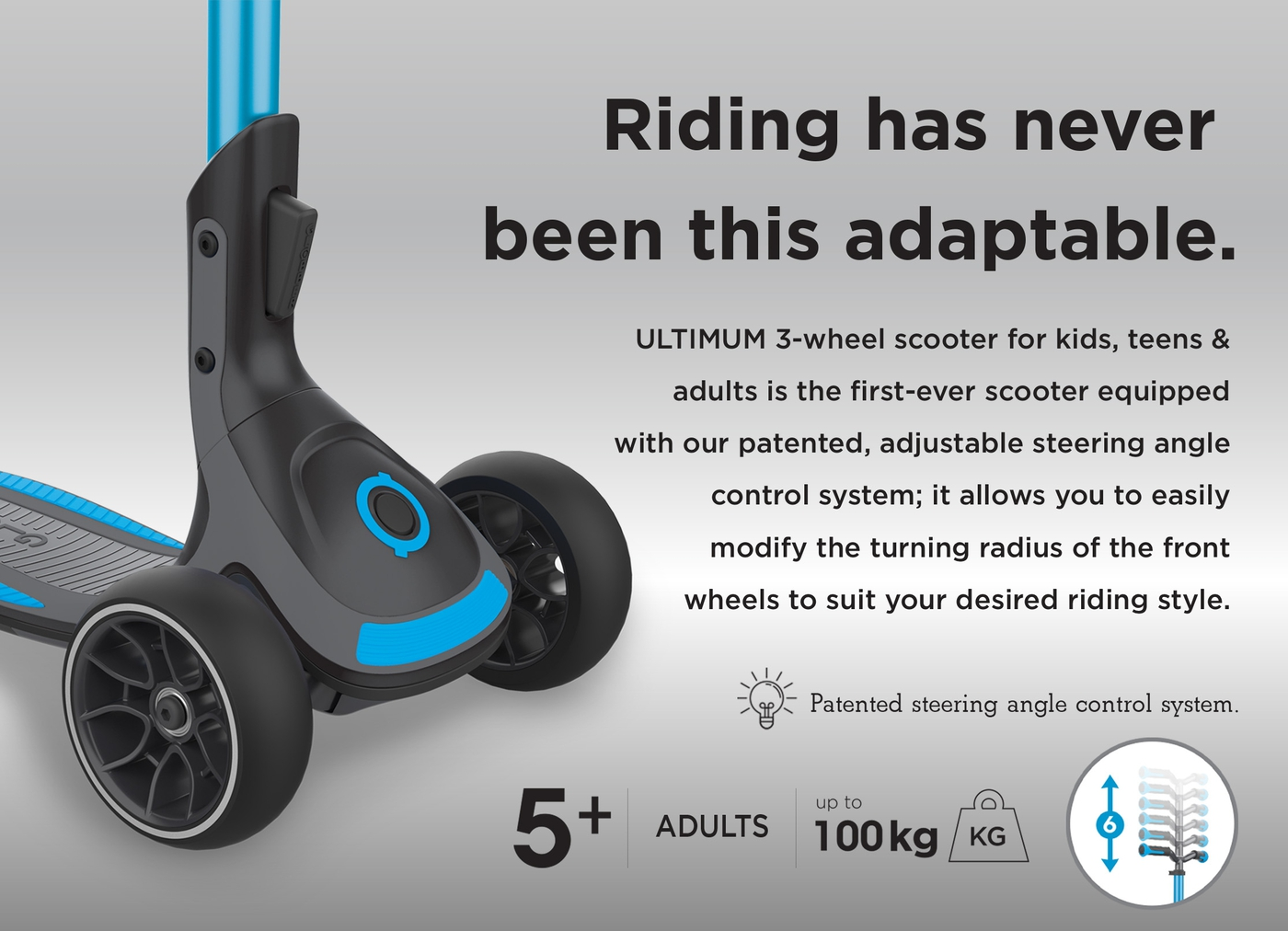 Riding has never been this adaptable.