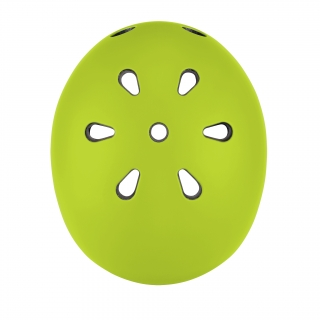 EVO-helmets-best-scooter-helmets-for-toddlers-with-air-vents-cooling-system-lime-green thumbnail 3