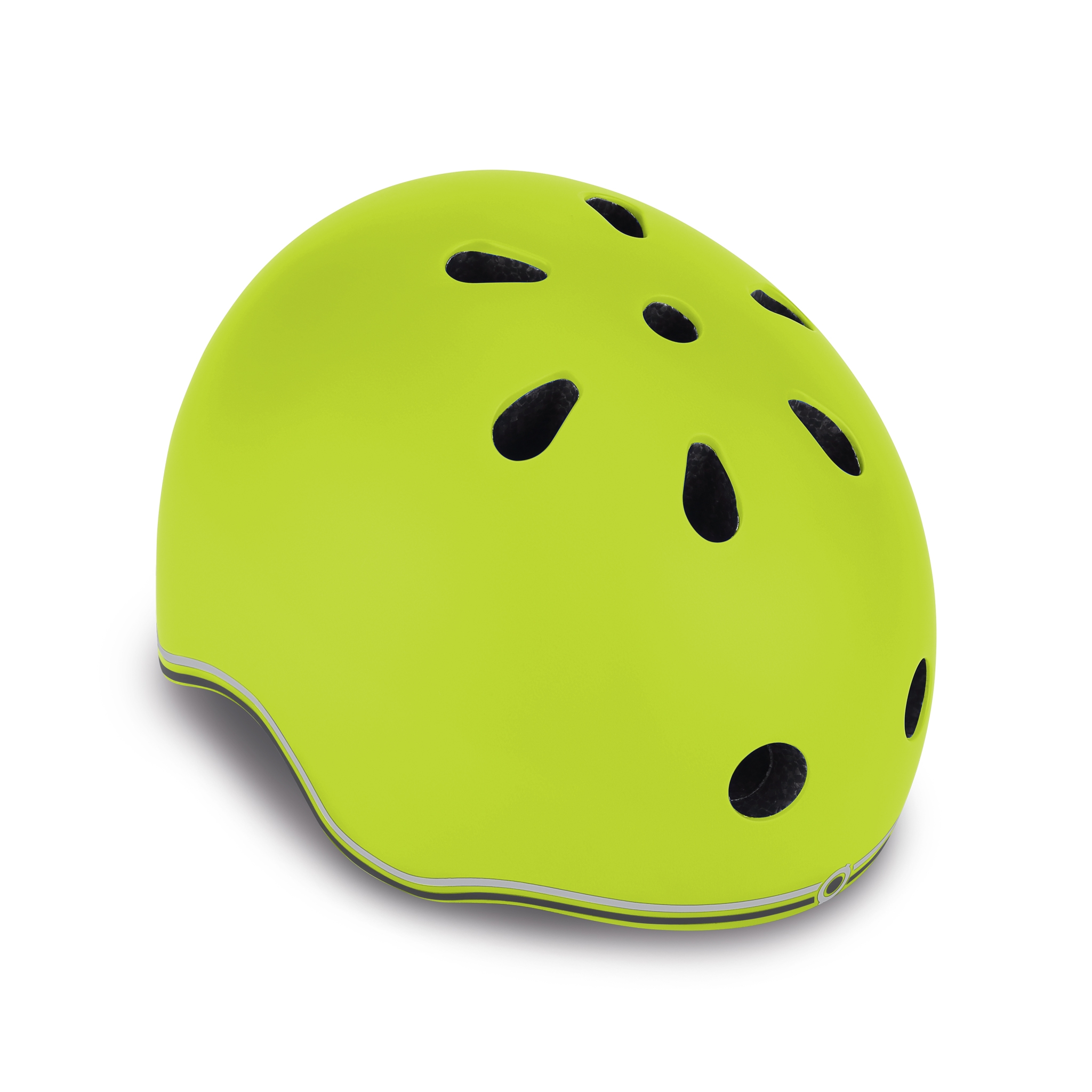 EVO-helmets-scooter-helmets-for-toddlers-in-mold-polycarbonate-outer-shell-lime-green 0