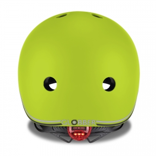 EVO-helmets-scooter-helmets-for-toddlers-with-LED-lights-safe-helmet-for-toddlers-lime-green thumbnail 2