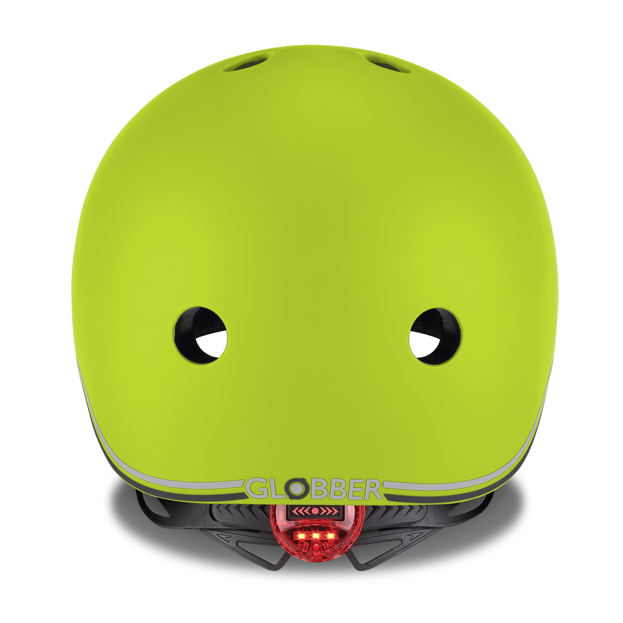 EVO-helmets-scooter-helmets-for-toddlers-with-LED-lights-safe-helmet-for-toddlers-lime-green 2