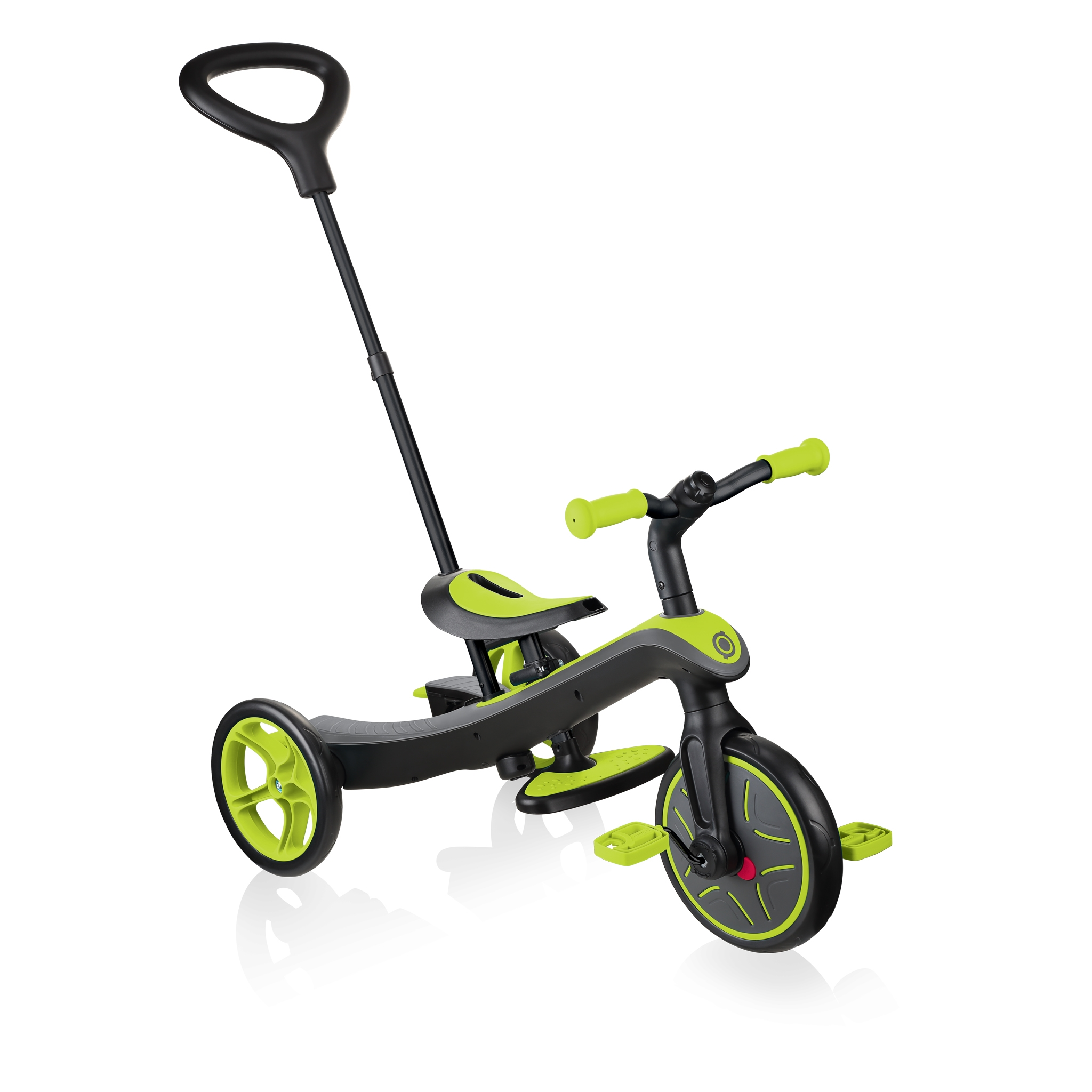 Globber-EXPLORER-TRIKE-4in1-all-in-one-baby-tricycle-and-kids-balance-bike-stage2-guided-trike_lime-green