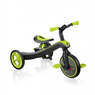 Globber-EXPLORER-TRIKE-4in1-all-in-one-baby-tricycle-and-kids-balance-bike-stage3-training-trike_lime-green