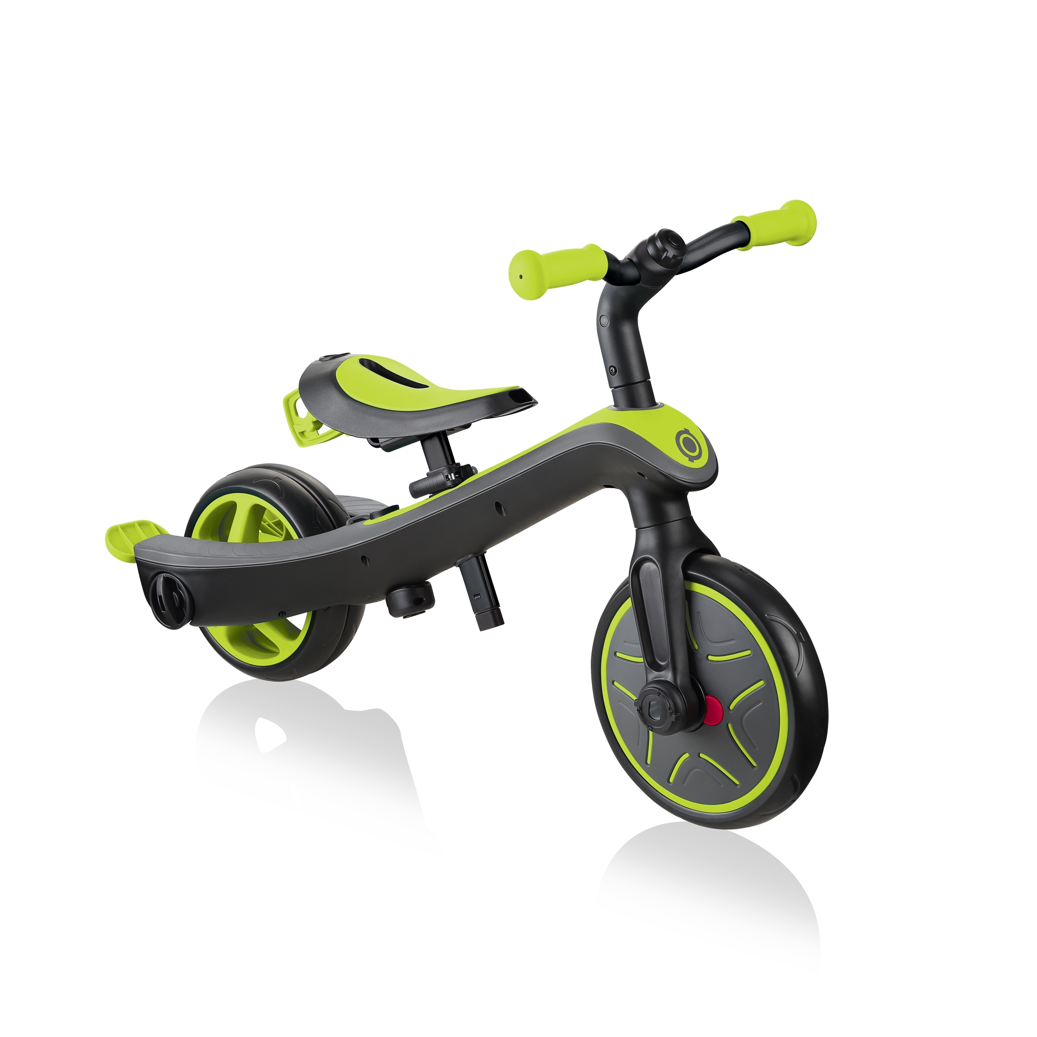 Globber-EXPLORER-TRIKE-4in1-all-in-one-baby-tricycle-and-kids-balance-bike-stage4-balance-bike_lime-green