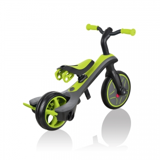 Globber-EXPLORER-TRIKE-4in1-all-in-one-baby-tricycle-and-kids-balance-bike-with-smart-pedal-storage_lime-green