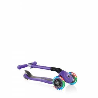 foldable-scooter-for-toddlers-aged-2-and-above-Globber-JUNIOR-FOLDABLE-LIGHTS thumbnail 4
