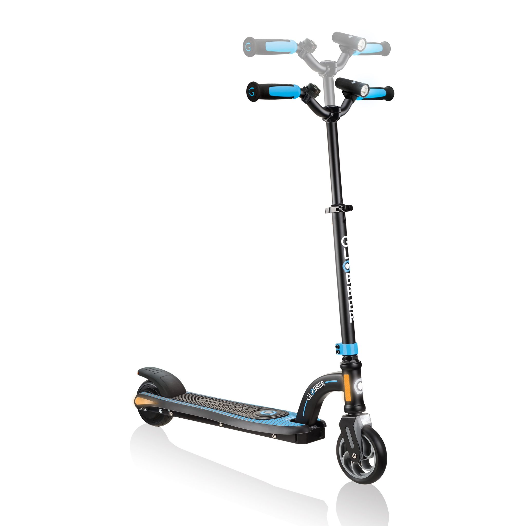Globber-ONE-K-E-MOTION-10-best-electric-scooter-for-kids-aged-8-to-14-adjustable-e-scooter 1