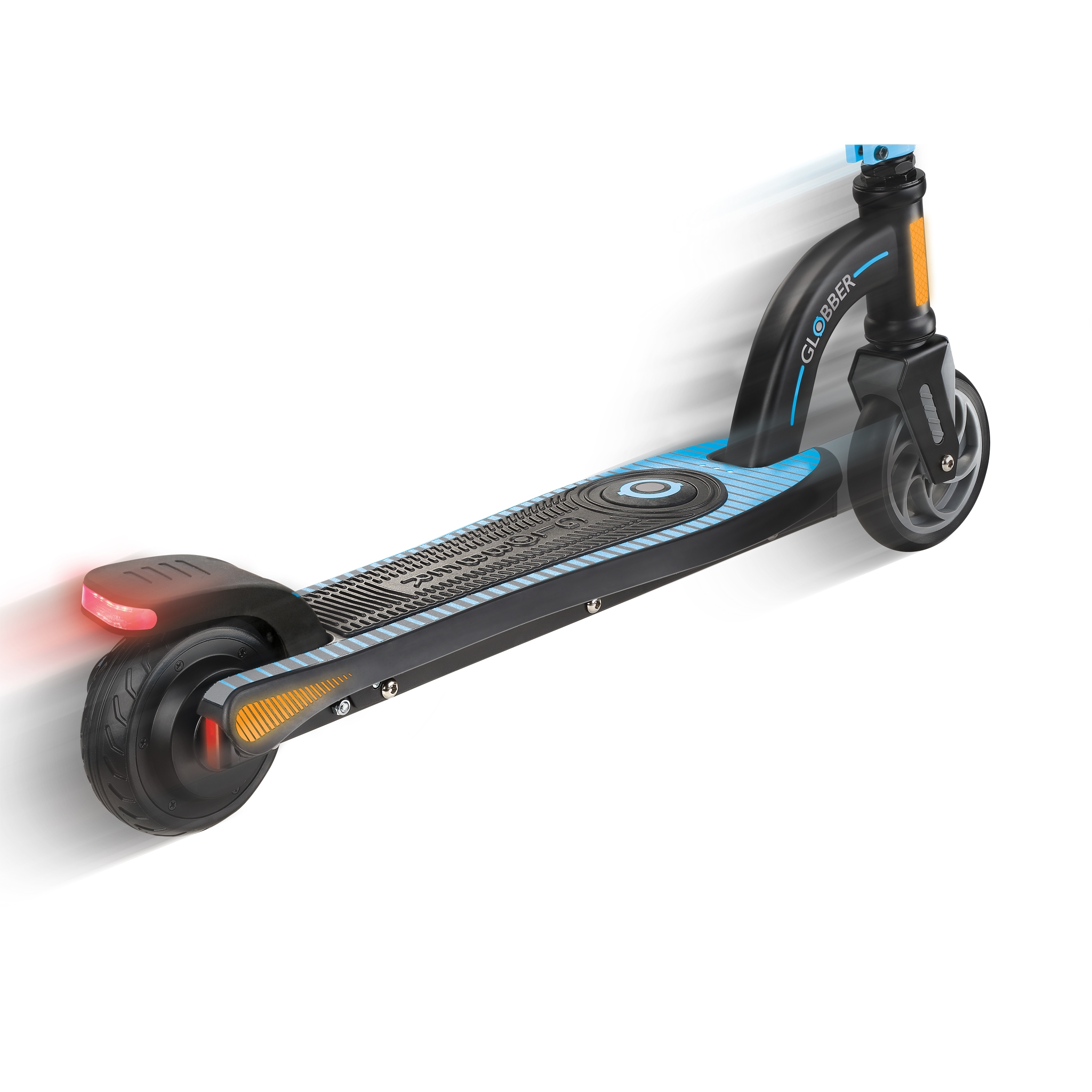Globber-ONE-K-E-MOTION-10-electric-scooter-for-kids-aluminium-scooter-deck-with-accelerator-pressure-sensor 2