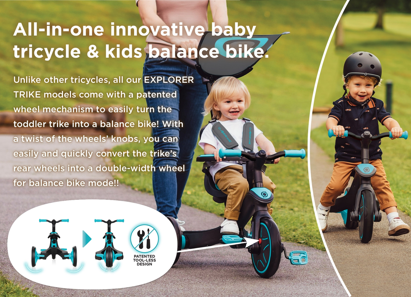 EXPLORER-TRIKE-innovative-baby-tricycle-and-kids-balance-bike-with-patented-wheel-mechanism