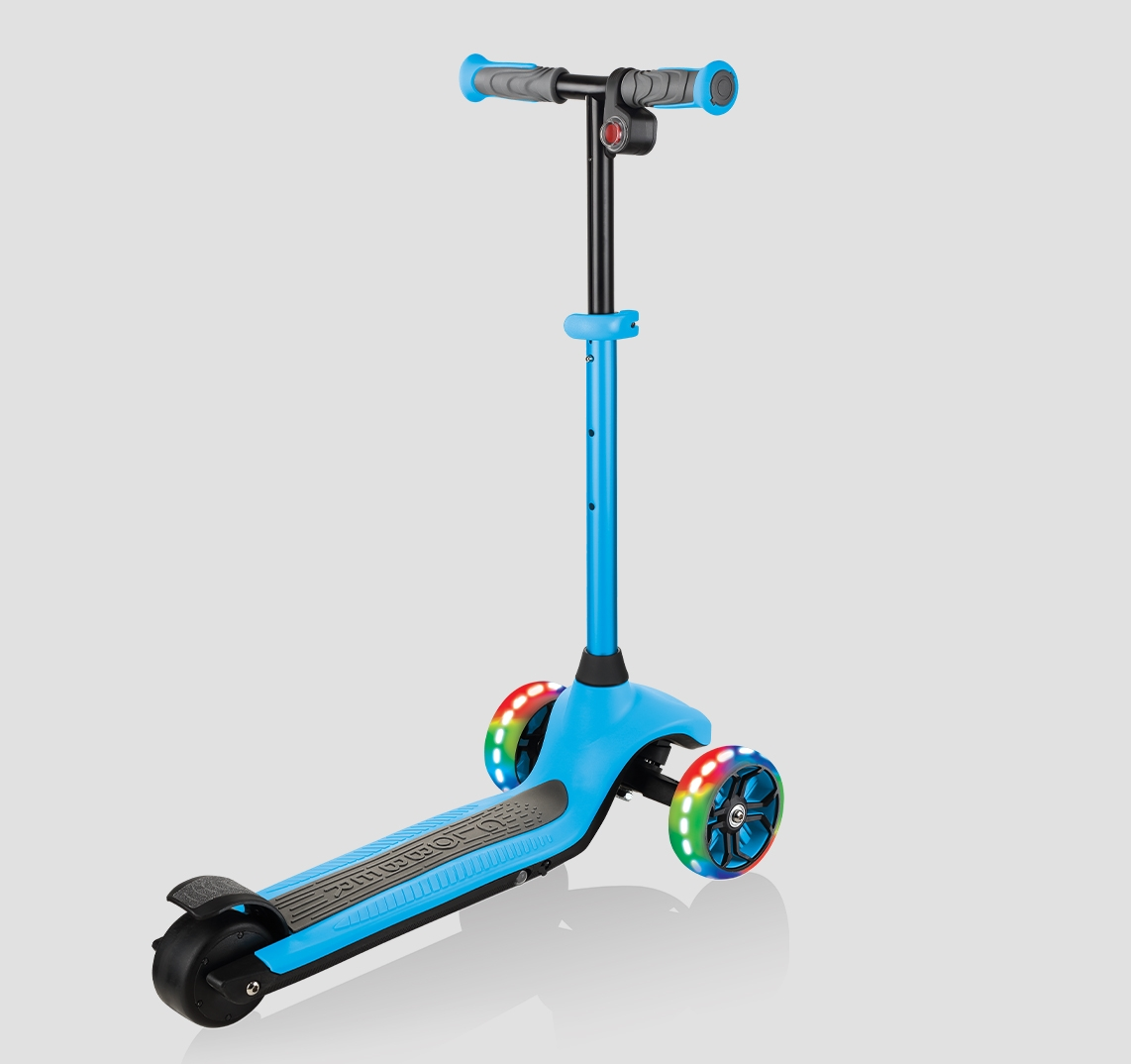 Globber-ONE-K-E-MOTION-4-3-wheel-electric-scooter-for-kids-with-dual-braking-system