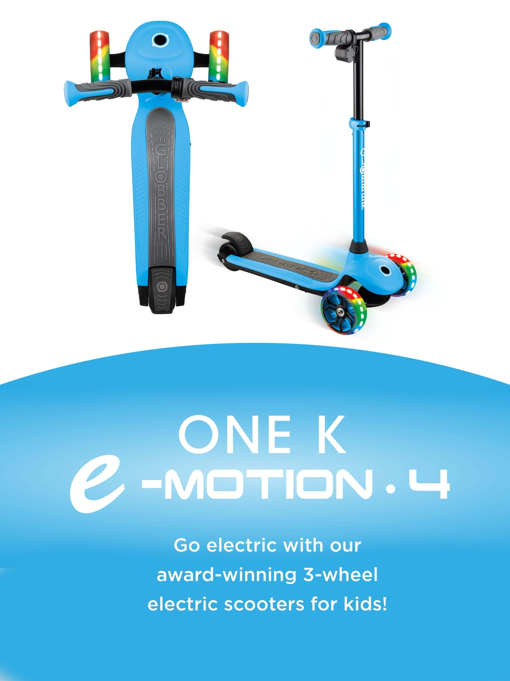 Globber-ONE-K-E-MOTION-4-award-winning-3-wheel-electric-scooter-for-kids