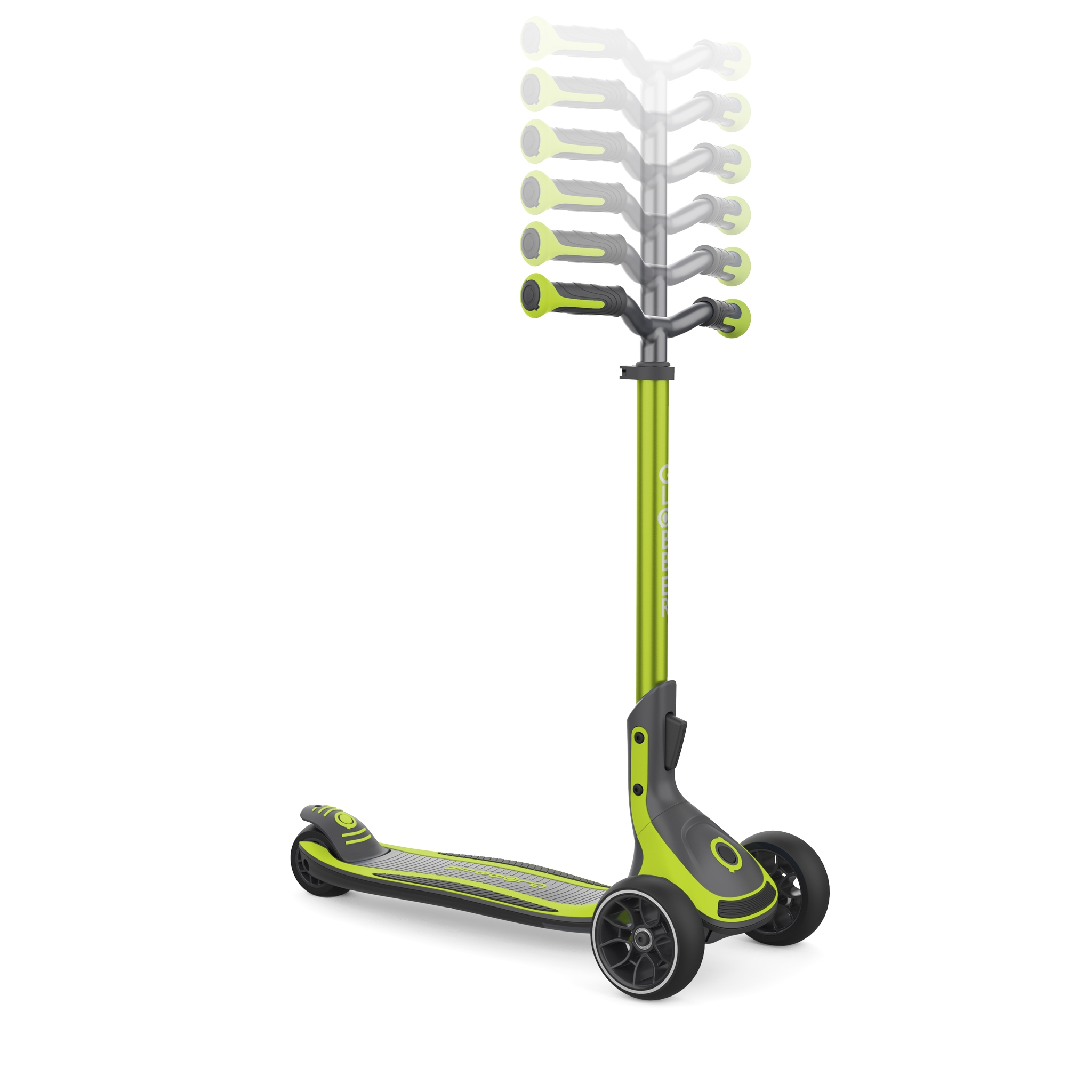 3 wheel foldable scooter for kids, teens and adults - Globber ULTIMUM 2