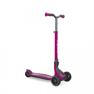3 wheel foldable scooter for kids, teens and adults - Globber ULTIMUM thumbnail 0