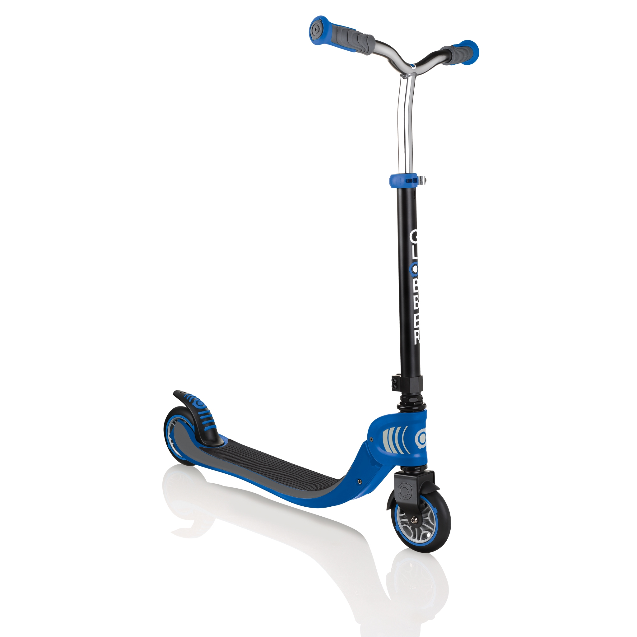 FLOW-FOLDABLE-125-2-wheel-scooter-for-kids-navy-blue 0