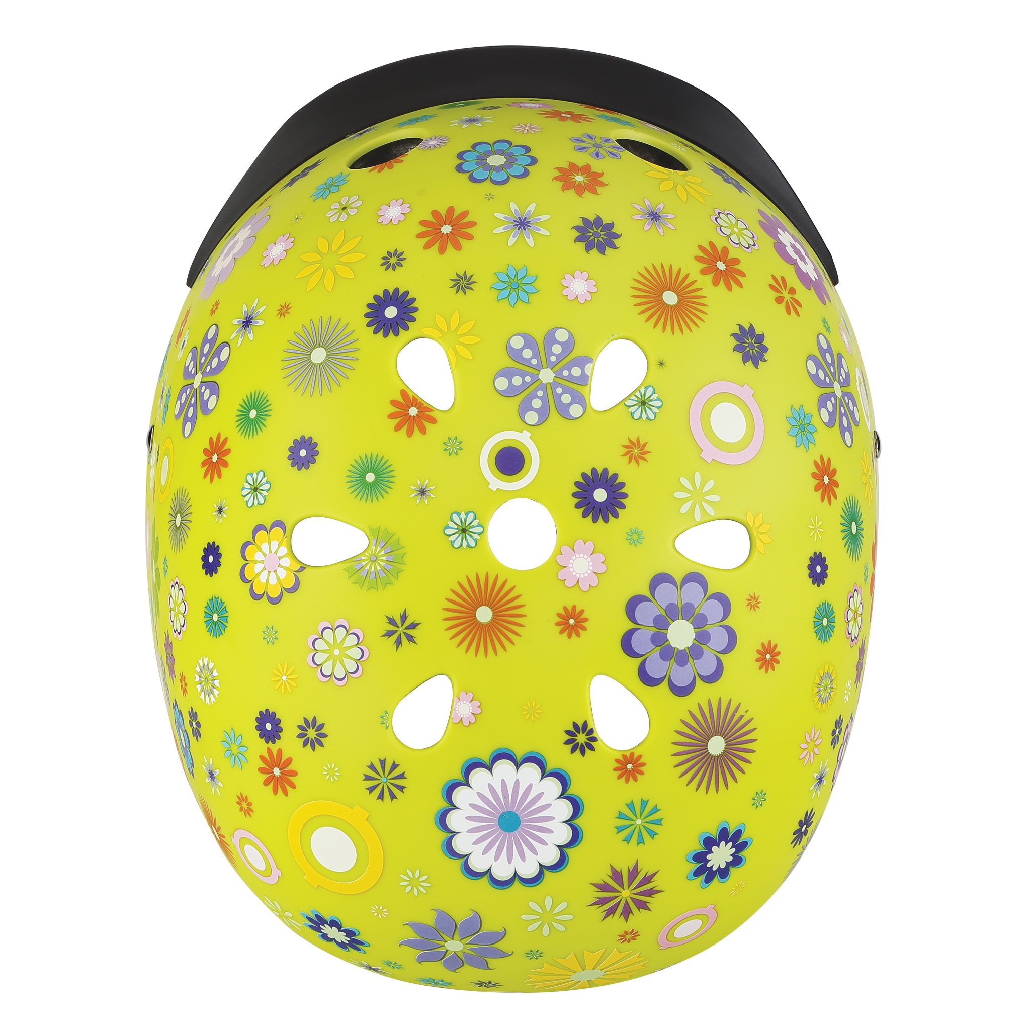 ELITE-helmets-best-scooter-helmets-for-kids-with-air-vents-cooling-system-lime-green 3