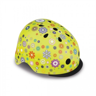 ELITE-helmets-scooter-helmets-for-kids-in-mold-polycarbonate-outer-shell-lime-green thumbnail 0