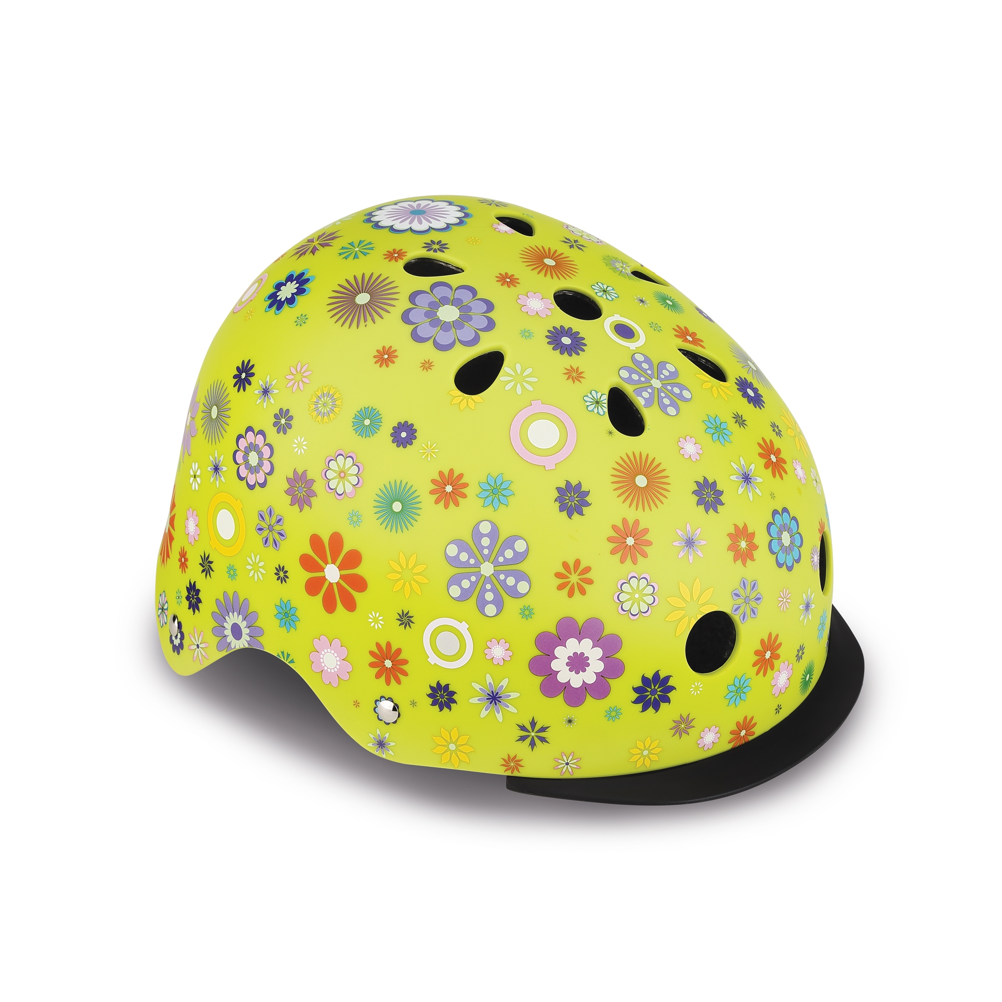 ELITE-helmets-scooter-helmets-for-kids-in-mold-polycarbonate-outer-shell-lime-green 0